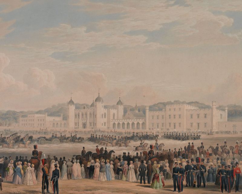 Royal Military Academy Woolwich, c1840