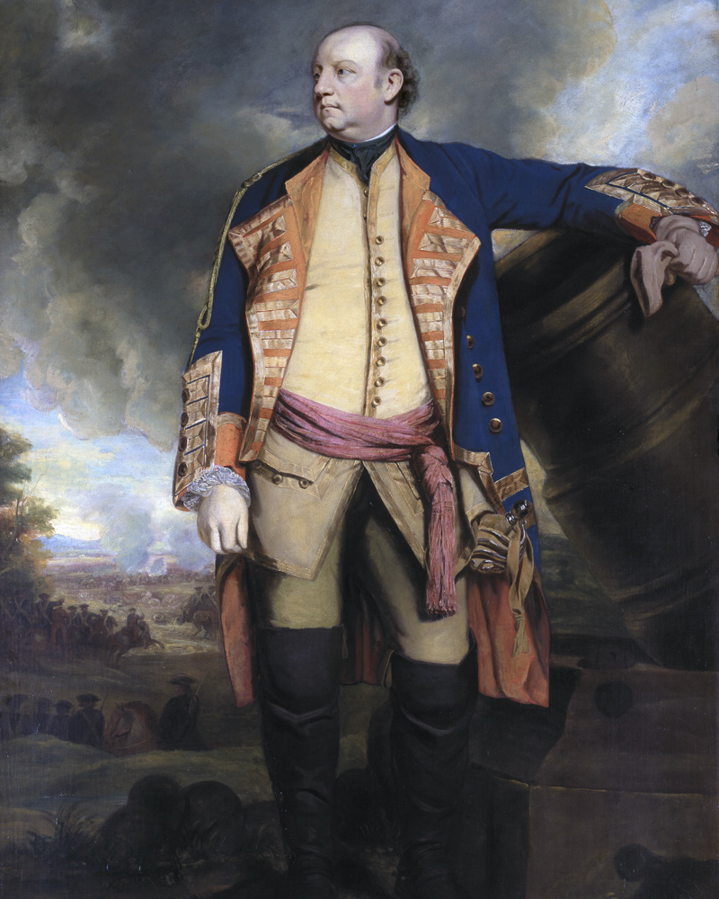 Lieutenant-General John Manners, Marquess of Granby, c1763