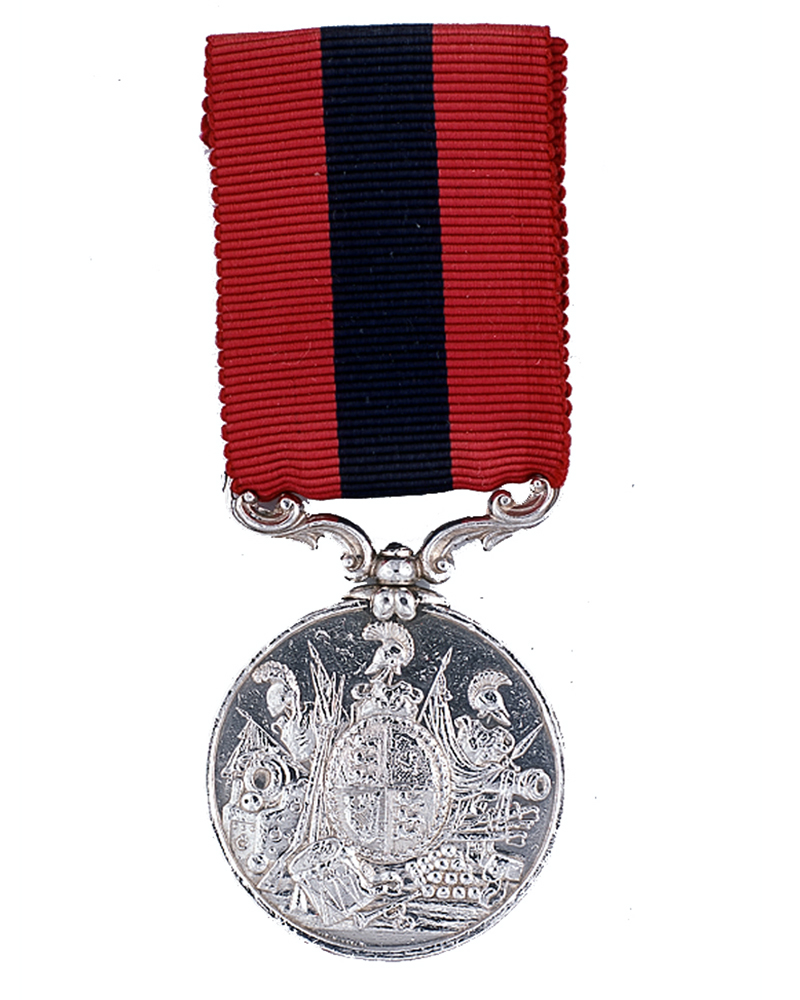 Distinguished Conduct Medal awarded to Sergeant John Brophy, 63rd (West Suffolk) Regiment, 1854