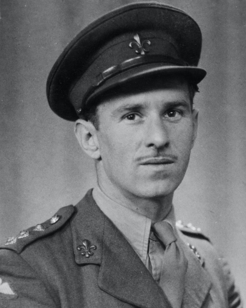 Captain Michael Trotobas of The Manchester Regiment and SOE, c1942
