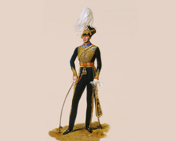 Lieutenant General Sir Thomas Downman, KCH, Royal Horse Artillery, c1832