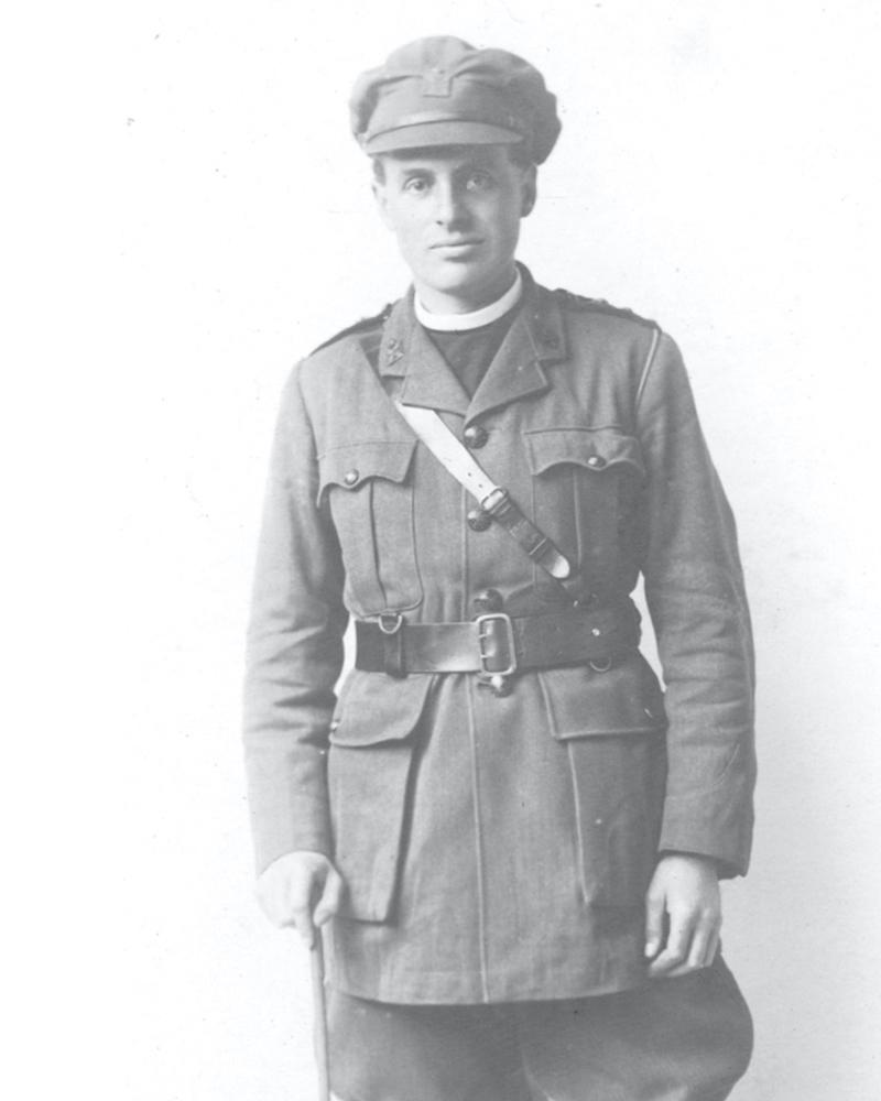Chaplain David Railton, c1918