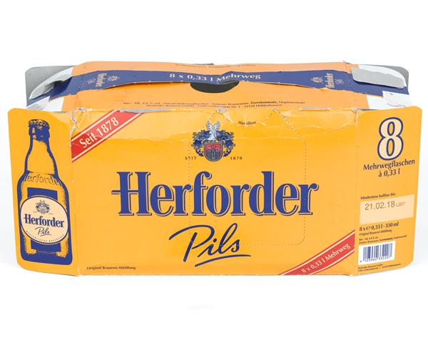 Herforder Pils box, 1995