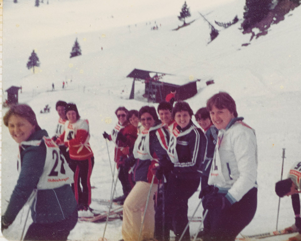 Soldiers of 29th Company, Women's Royal Army Corps, based in Rheindahlen in Germany on Exercise Snow Queen, 1981