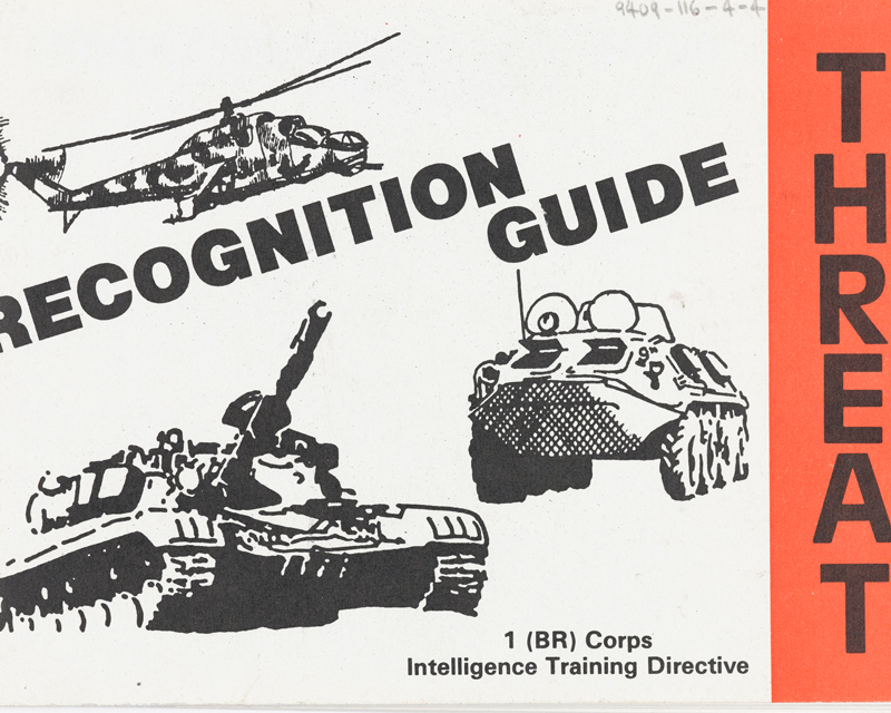 BAOR Threat Recognition Guide, 1988