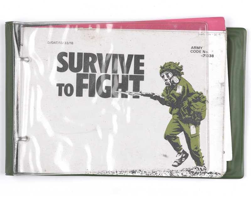 'Survive to Fight' instruction booklet, June 1983
