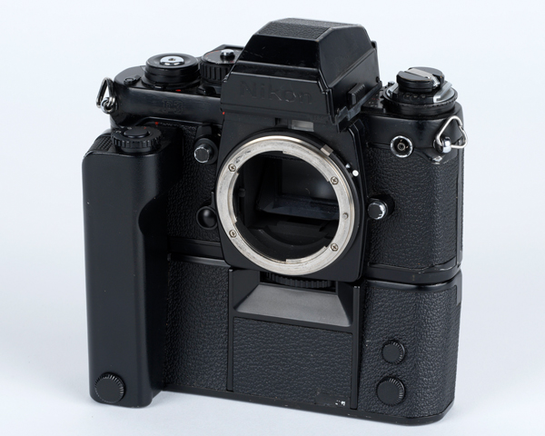 Camera used by BRIXMIS soldiers in East Germany, 1984