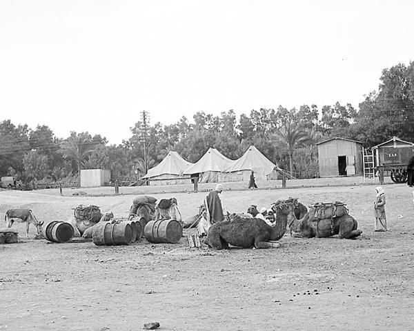 El Amirya Station in Egypt, 1941