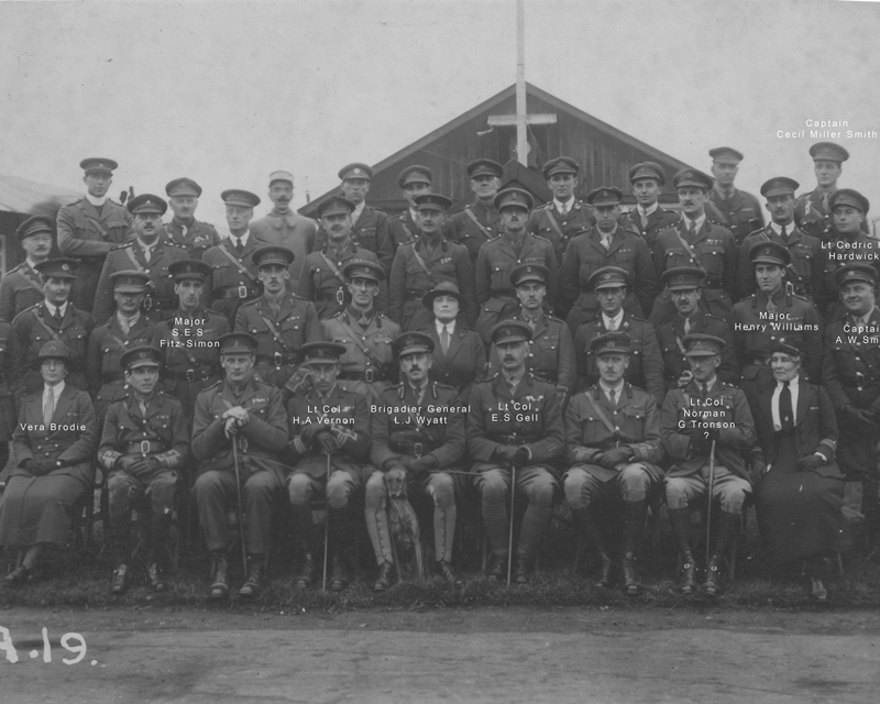 Many of the personnel involved in the selection of the Unknown Warrior, 1920