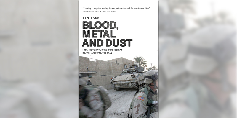 'Blood, Metal and Dust' Book Cover