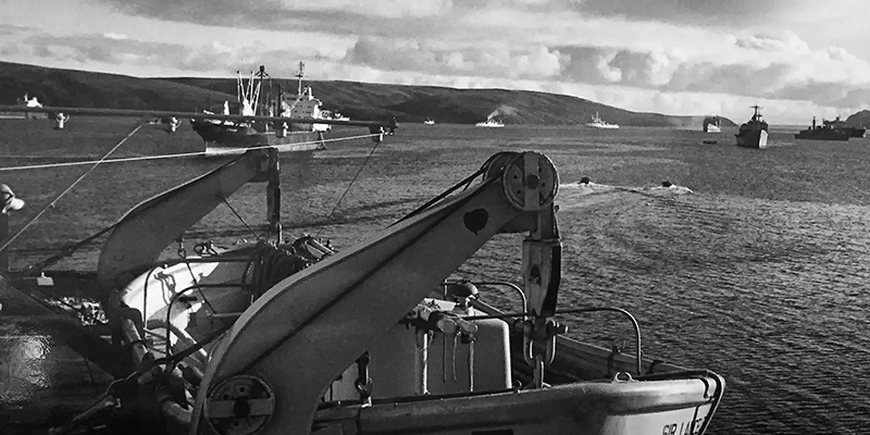 Life Raft Bay, Falkland Islands