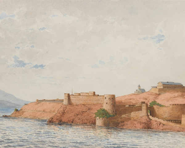Attock Fort on the River Indus, c1878