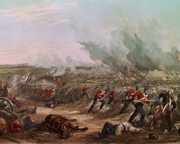 The Battle of Ferozeshah, 22 December 1845