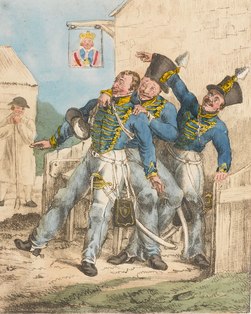 'How merrily we live that Soldiers be', c1828