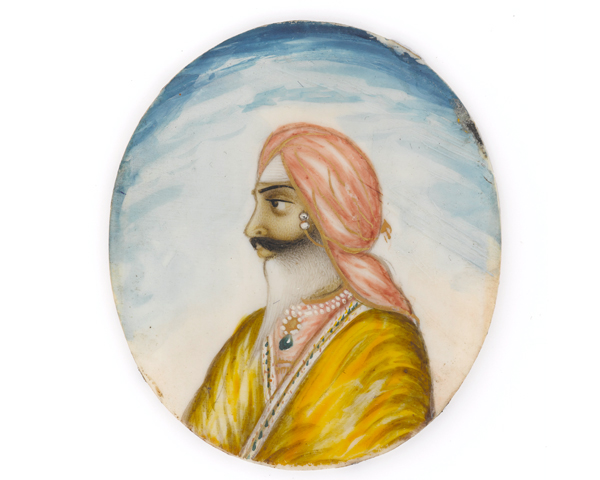 Sirdar Chattar Singh Attariwala, c1845