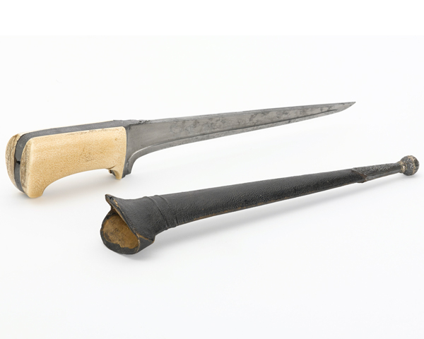 Dagger taken from an Afghan cavalry commander at the Battle of Gujerat, 1849