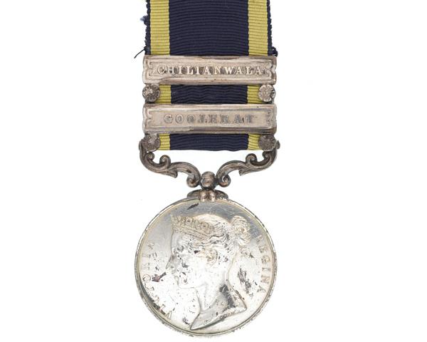 Punjab Medal 1848-49 awarded to General Viscount Hugh Gough