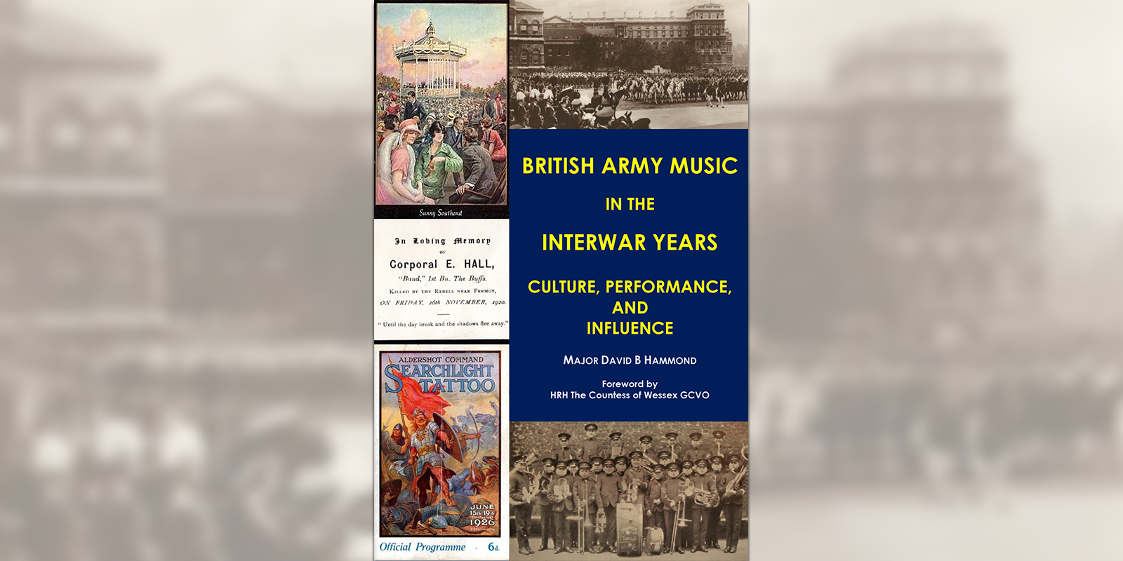 'British Army Music in the Interwar Years' book cover