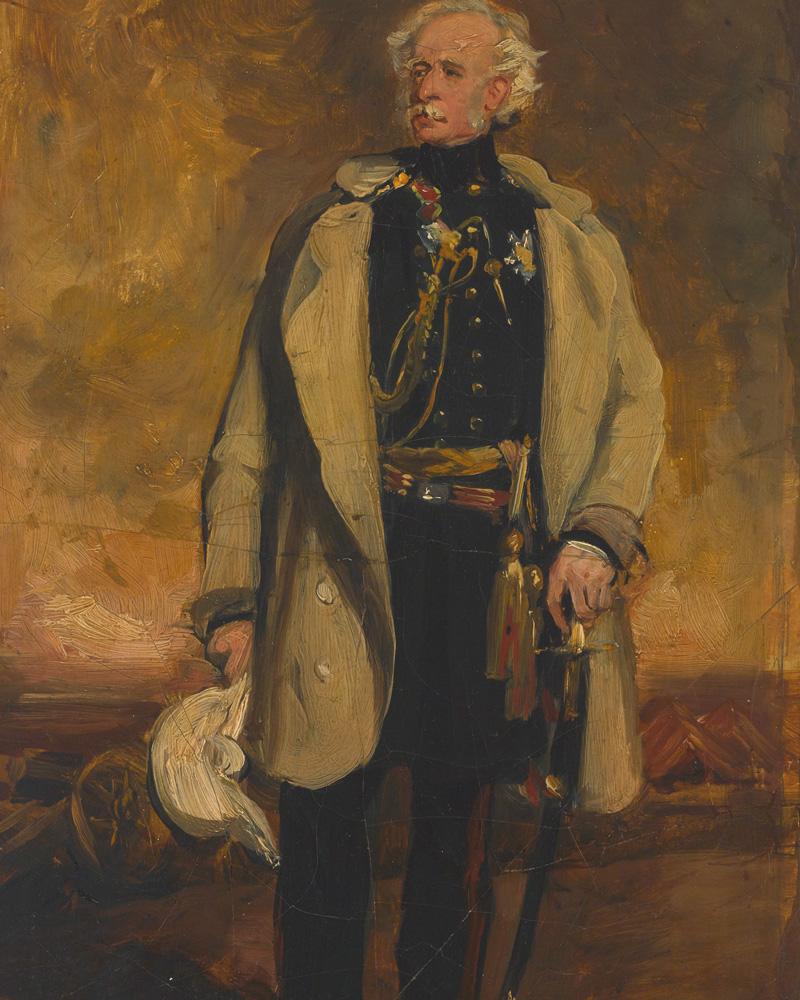 Lieutenant-General Viscount Hugh Gough, 1853