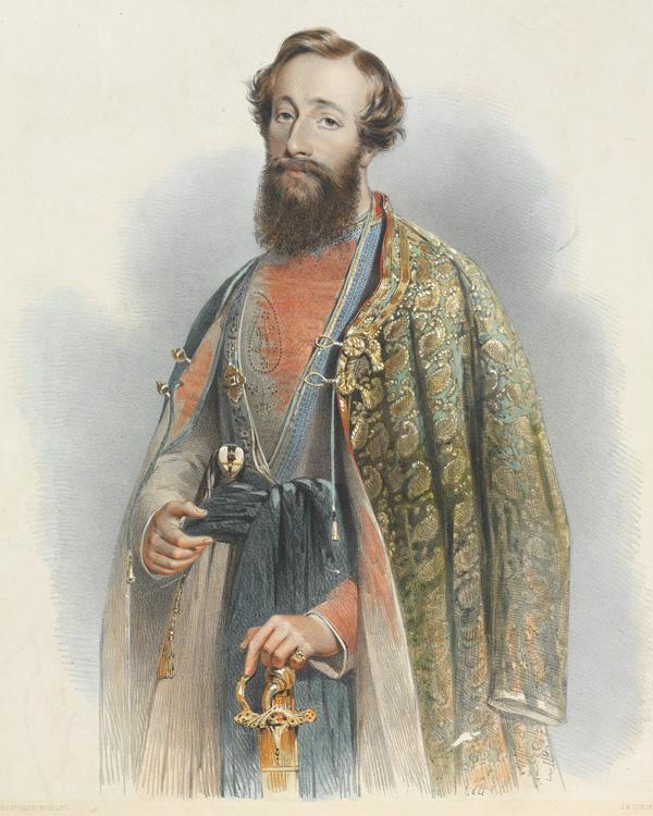 Major Herbert Edwardes, c1850