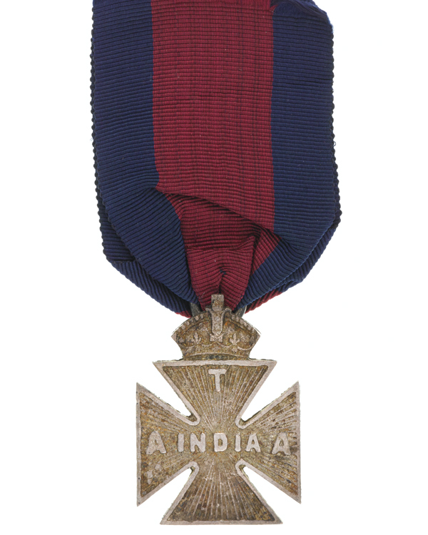Havelock Cross awarded to Sergeant J Phillips, 27th Battery, Royal Artillery, 1899
