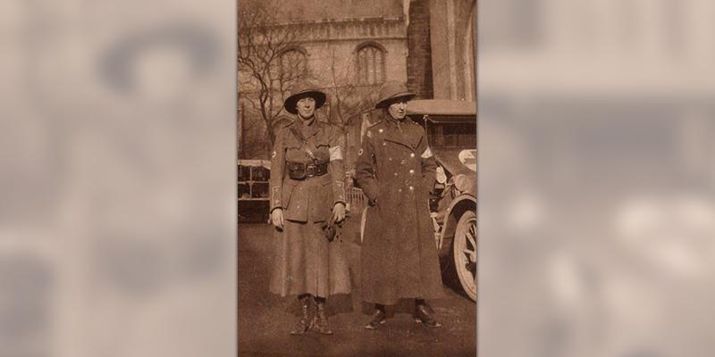 Lillian Franklin, First Aid Nursing Yeomanry