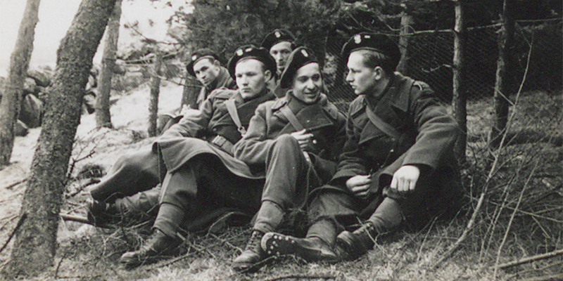 Polish soldiers in Scotland, c1940-43