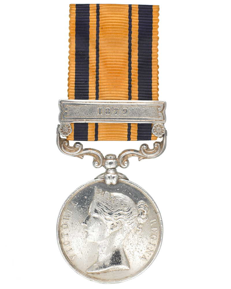 South Africa Medal for Zulu and Basuto Wars 1877-79 awarded to Private Francis FitzPatrick VC, 94th Regiment