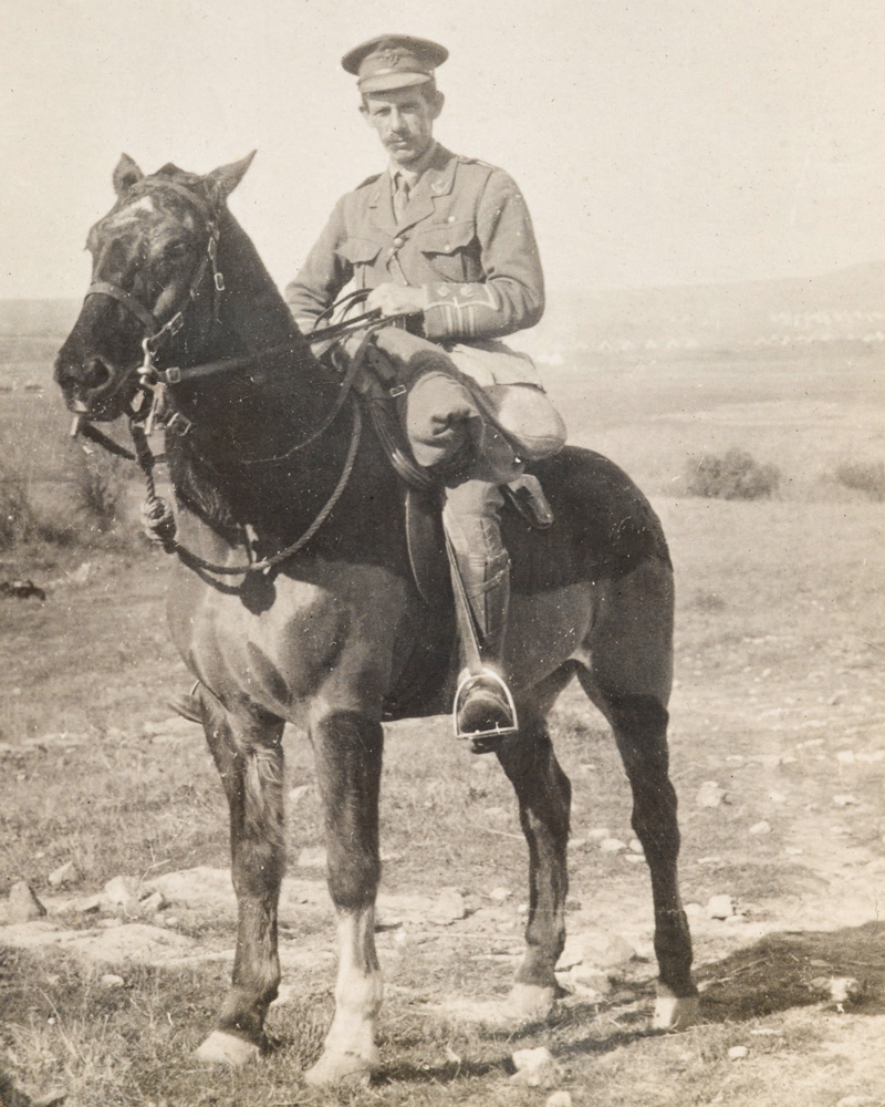 Lieutenant-Colonel Henry Jourdain, 5th Battalion The Connaught Rangers, 1915