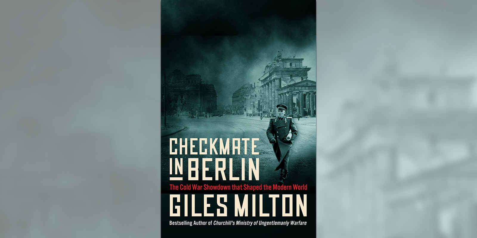 'Checkmate in Berlin' book cover