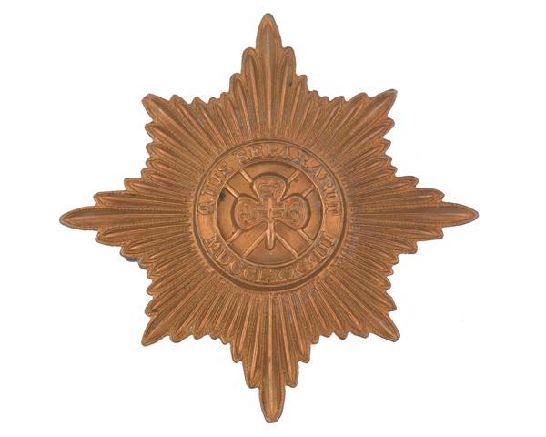 Cap badge, other ranks, Irish Guards, c1900