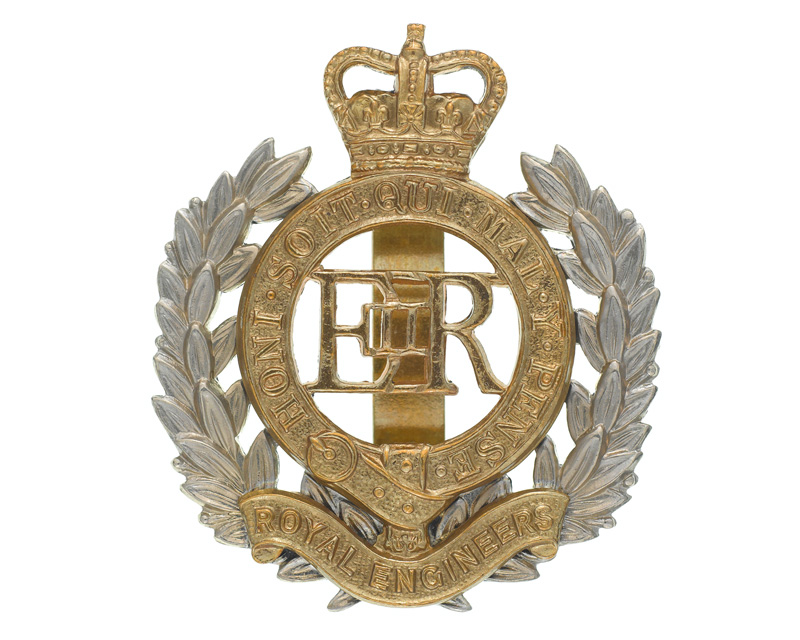 Cap badge, Royal Engineers, post-1953