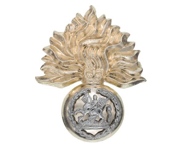 Cap badge, The Royal Regiment of Fusiliers, c1970