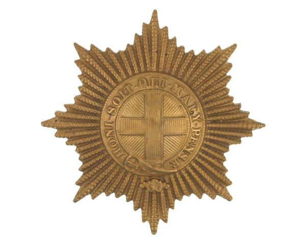 Other rank's cap badge, Coldstream Guards, c1930