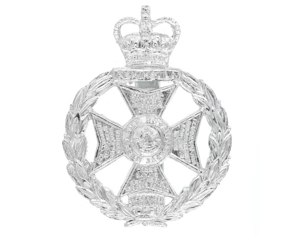 Other ranks' cap badge, The Royal Green Jackets, c1973