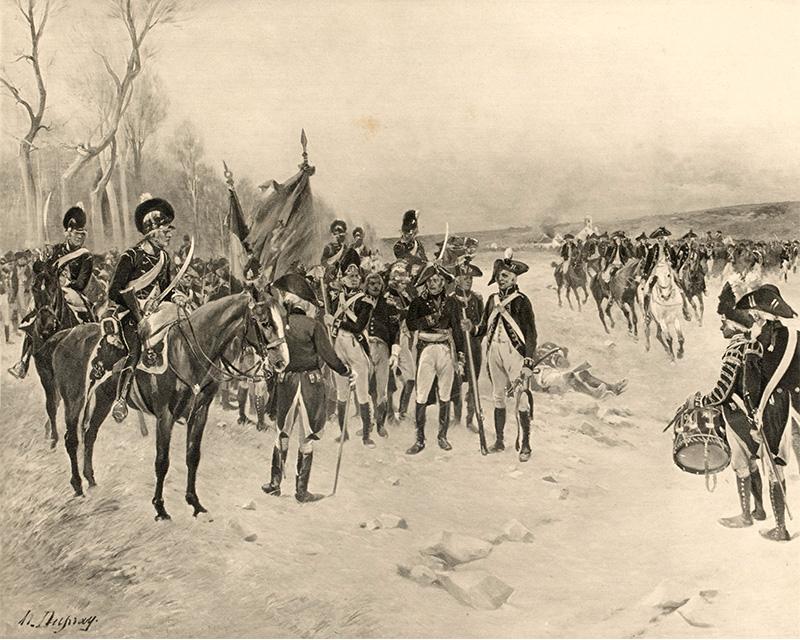The Battle of Ballinamuck, 1798
