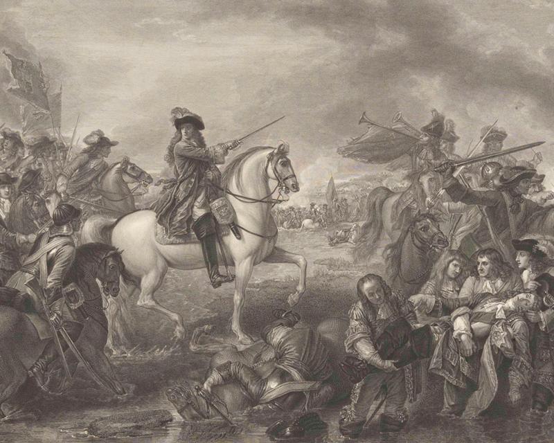 Battle of the Boyne, 1690