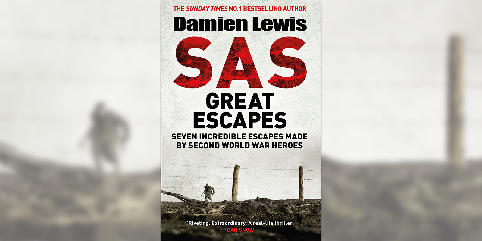 'SAS Great Escapes' book cover