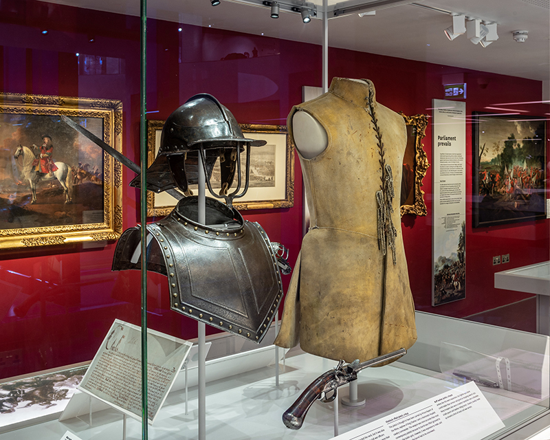 Civil War armour and weaponry, c1640s
