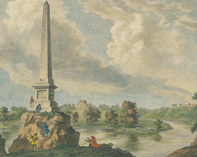 Obelisk in memory of the Battle of the Boyne, 1778