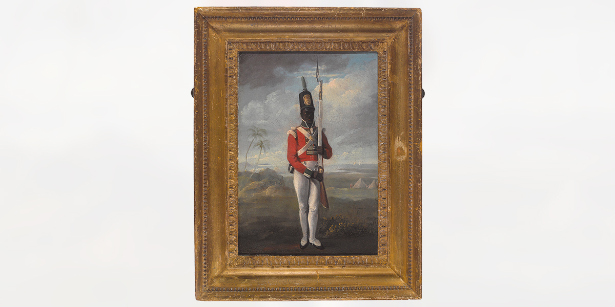 A private of the 8th West India Regiment, c1803