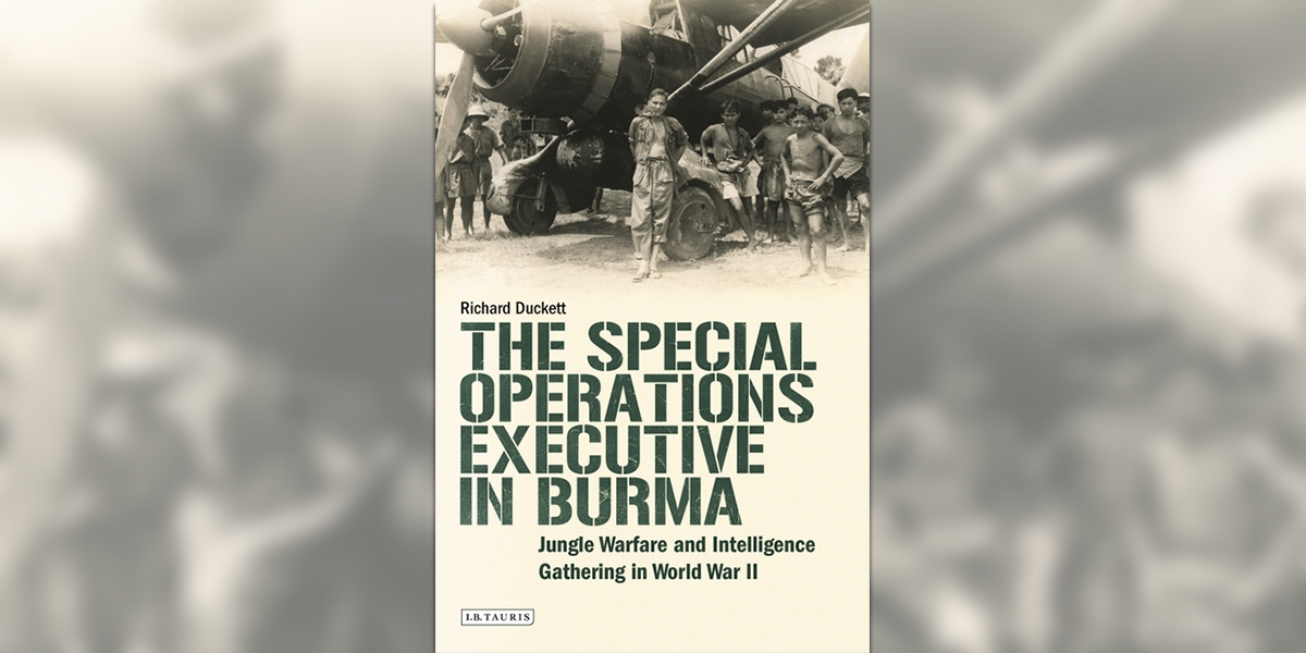 'The Special Operations Executive in Burma' book cover