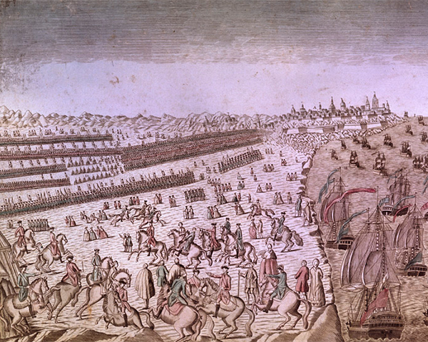 Surrender of the English Army at Yorktown, 19 October 1781