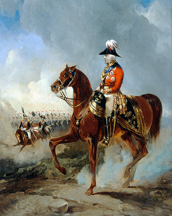 Duke of Wellington at the Grand Review in Windsor Great Park on 5 June, 1844
