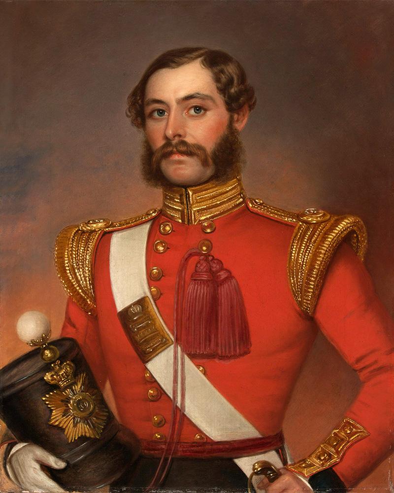 Lieutenant and Adjutant William Munro, 39th (Dorsetshire) Regiment of Foot, c1844