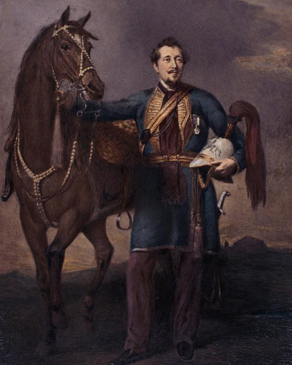 Colonel Alexander Dewar, 1st Cavalry Gwalior Contingent, c1850