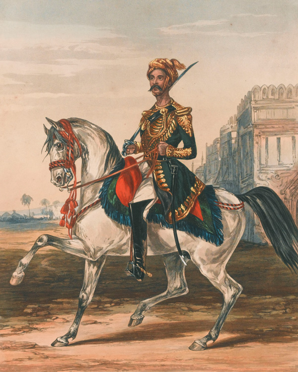 A sowar of the Nizam of Hyderabad's army, 1846