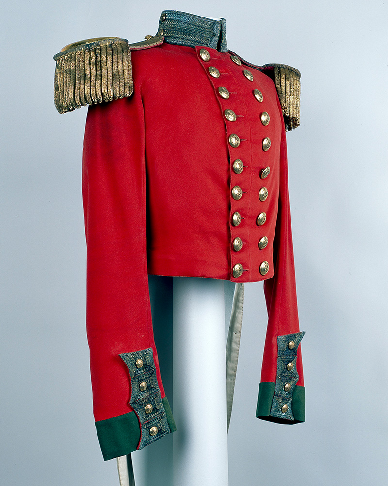 Full dress coatee, Major RB Baker, 39th (Dorsetshire) Regiment of Foot, 1854