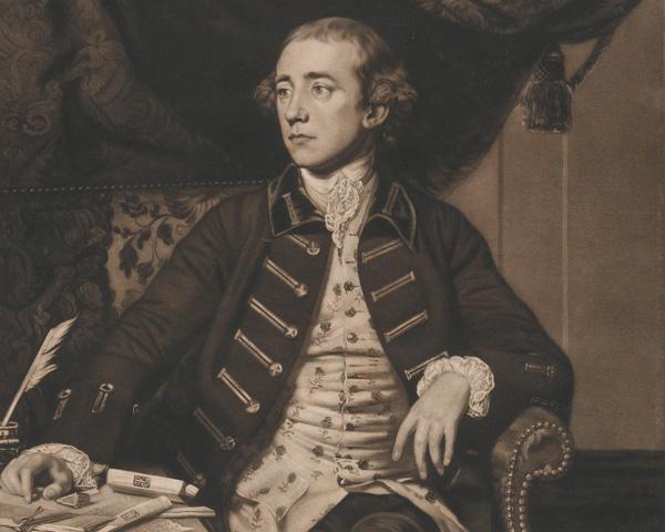 Sir Warren Hastings, Governor General of Bengal, c1773
