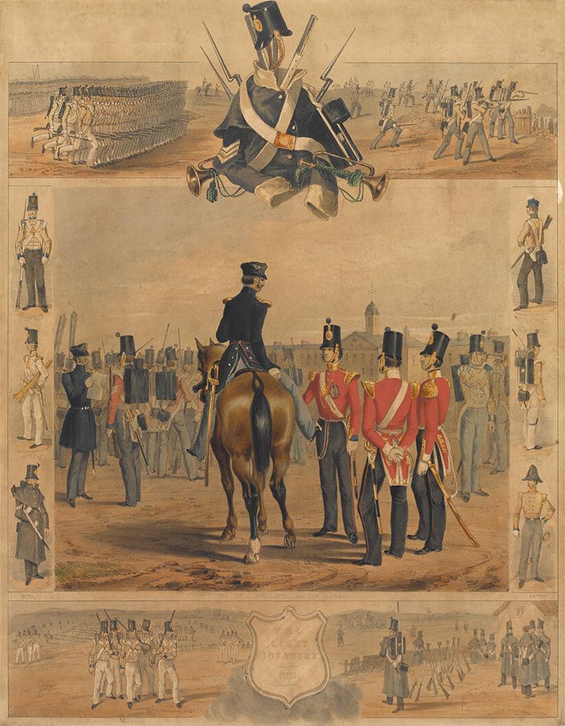 'The Light Infantry', 1846